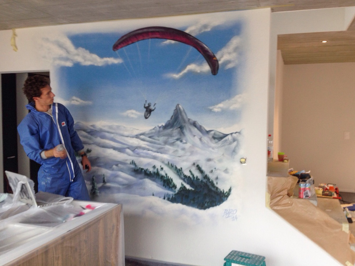 Graffiti Kunstler - Sprayer in der Schweiz